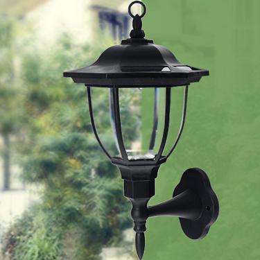 Solar Powered dekoratív fali lámpa