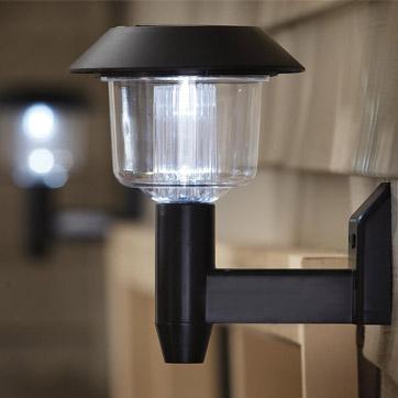 Solar Powered Wall Light