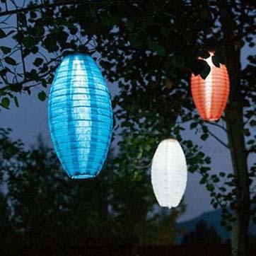 Solar Powered kínai lámpa