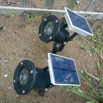 Solar karácsonyi projektor Light